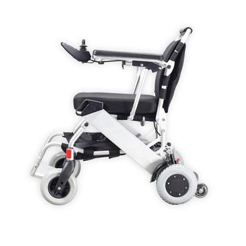 Sedia a rotelle elettrica pieghevole in occasione sugli ...